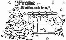 Frohe Weihnachten Malvorlagen Coloring Pages