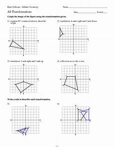 transformation geometry worksheets doc 671 geometry transformations practice worksheet for 9th 12th grade lesson planet