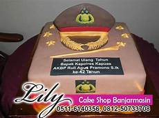 Cake Shop Banjarmasin Kue Ultah Tema Polisi