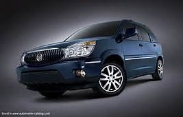 2005 Buick Rendezvous Ultra Since Mid Year 2004 For North