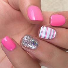 58 amazing nail designs for short nails pictures