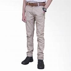 jual celana chino panjang pria online harga kualitas terjamin blibli com
