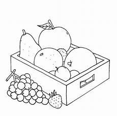 Schule Und Familie De Malvorlagen Kostenlose Malvorlage Bauernhof Obstkiste Zum Ausmalen