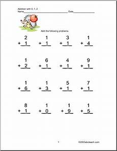 addition worksheets for grade 1 with answers 9391 worksheets addition 1 digit two addends one digit columns numbers 0 1 and 2 four pages