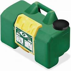 first aid only m7501 portable eye wash 15 min haws 9 gal cap 12 quot x22 quot x10 quot green buy online in
