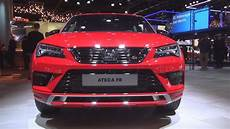 seat ateca fr black edition 2020 exterior and interior
