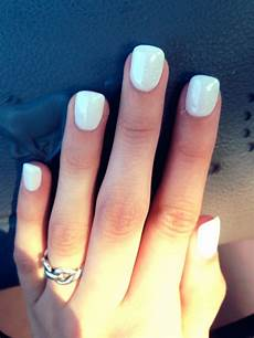 all white nails nails cute nail designs cool nail