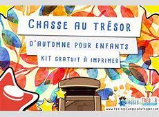 Chasse au trésor automne pour enfants   KIT gratuit à imprimer