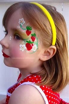 Malvorlagen Gesichter Schminken Strawberry Shortcake Paint