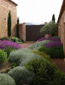 Mediterraner Garten Ideen - designing a mediterranean garden contours landscapes