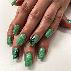 weed nail art ideas popsugar beauty uk photo 23