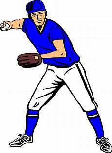 Clipart Baseball Player