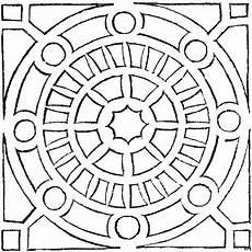 Mandala Malvorlagen Gratis Rundes Mandala Ausmalbild Malvorlage Mandalas Zum