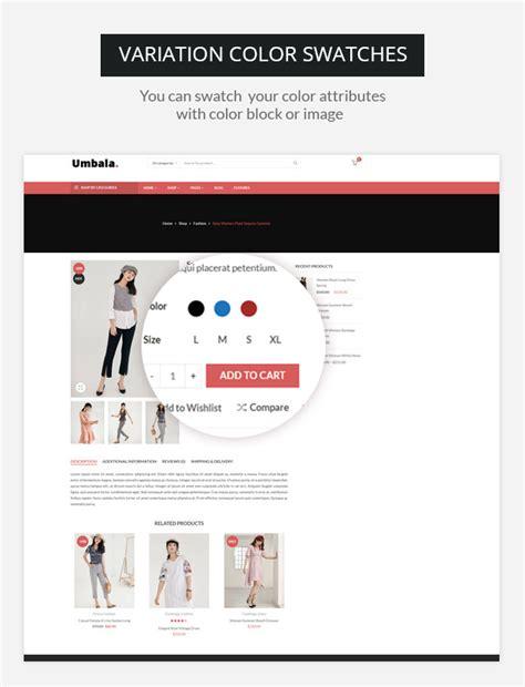 umbala v1 4 stylish fashion clothing woocommerce theme