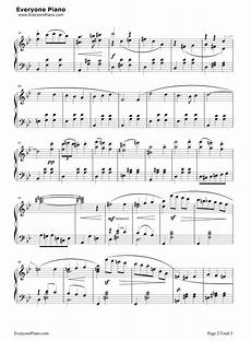 merry go round of life howl s moving castle theme stave preview 2 free piano sheet music