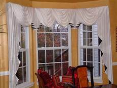 Kitchen Curtains For Bay Windows by Curtain Trend Babble Window Treatments For Bay Windows