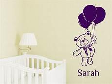 baby wandtattoo baby wandtattoo teddyb 228 r mit wunschnamevon wandtattoo net