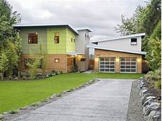 garage pultdach haus mit pultdach bauen satteldach und flachdach vergleich