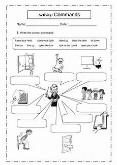 commands worksheet with answers 18713 classroom commands interactive worksheet