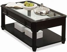 Rectangle Coffee Table With Glass Top