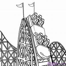 Aquarell Malvorlagen Quest Roller Coaster Happy National Roller Coaster Day