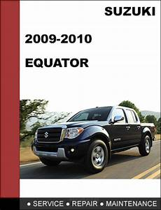 motor repair manual 2010 suzuki equator regenerative braking suzuki equator 2009 2010 factory workshop service repair manual