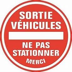 autocollant interdiction de stationner sticker autocollant interdiction de stationner sortie de v 233 hicule r 233 f 1201 ebay