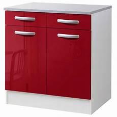 meuble bas cuisine but meuble de cuisine bas 2 portes 2 tiroirs brillant