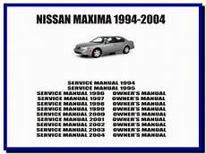 automotive air conditioning repair 1994 nissan maxima user handbook nissan maxima 1994 2004 service manual owners manual
