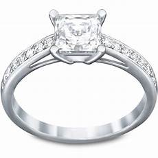 bague swarovski attract attract czwh rhs bague solitaire