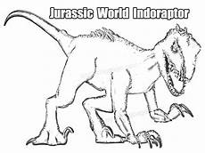 indoraptor coloring page