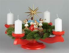 adventsleuchter mit blank engeln f 252 r stumpenkerzen farbig