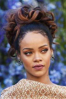 Rihanna Inspired Hairstyle rihanna hairstyles hair colors style