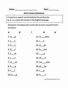 vowel letters worksheets for preschool 23657 vowel worksheet