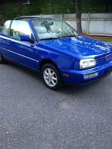 buy car manuals 1997 volkswagen cabriolet free book repair manuals buy used 1998 volkswagen cabrio gls rare jazz blue 5 speed convertible mk3 in andover