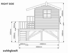 timber cubby house plans playhouse design outdoor toys wood in 2019 cubby