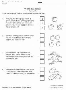1st grade math worksheet subtraction word problems subtraction word problems worksheets 1b 1c