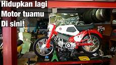 Bengkel Custom Motor by Otovlog Elders Garage Bengkel Motor Tua Dan Custom