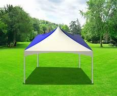 party tents direct 20x20 outdoor wedding canopy event tent solid blue walmart com walmart com