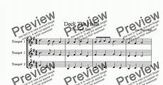 deck the halls trumpet trio download sheet music pdf file
