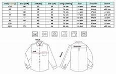 Mens Business Shirt Size Chart Dress Shirt Size Chart Blue Long Sleeve Dress Long