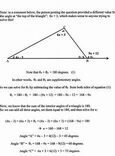 geometry finding angles of triangles mathematics stack