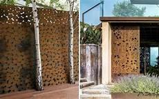 brise vue design jardin brise vue jardin et d 233 co en acier corten 30 id 233 es