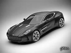 Aston Martin One 77 3d Model Rigged Max Obj Fbx C4d