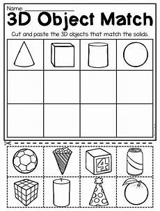 2d and 3d shapes worksheets for kindergarten kindergarten 2d and 3d shapes worksheets kindergarten