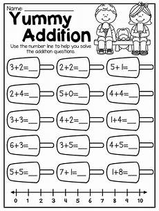 math addition worksheets kindergarten free 9327 summer review kindergarten math and literacy worksheet pack kindergarten math kindergarten