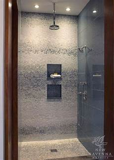 Mosaic Tile Shower For The Home