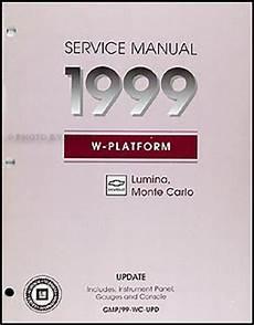 manual repair free 1999 chevrolet monte carlo windshield wipe control 1999 lumina monte carlo dash repair shop manual original supplement