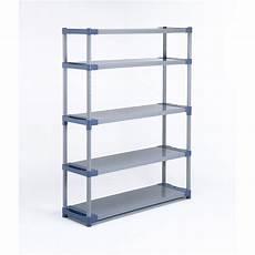 etagere resine leroy merlin etag 232 re r 233 sine grosfillex 5 tablettes gris bleu