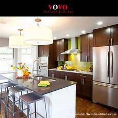 solid wood kitchen furniture sale customized solid wood kitchen furniture with wall
